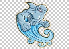 鲨鱼,变异鲨鱼PNG剪贴画蓝色,游戏,动物,脊椎动物,生日快乐矢量图