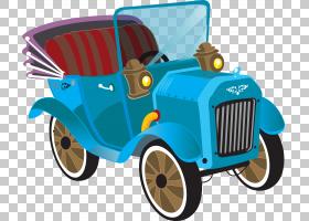 经典汽车跑车,经典汽车PNG剪贴画蓝色,汽车事故,老式汽车,汽车,生