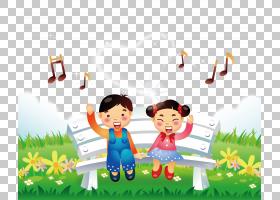 儿歌,唱歌音乐PNG剪贴画友谊,音乐作曲,幼儿,png下载,电脑壁纸,草