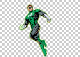 绿灯侠超人超级英雄火星Manhunter漫画,卡通灯笼PNG剪贴画英雄,漫