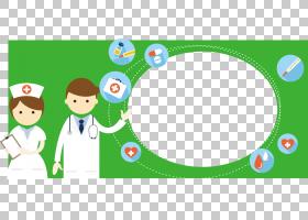 绿色卫生保健PNG剪贴画文字,草,绿苹果,卡通,材料,封装PostScript