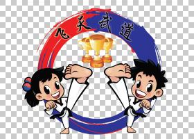 跆拳道标志,跆拳道徽章PNG剪贴画团队,男孩,卡通,徽标徽章,下载,