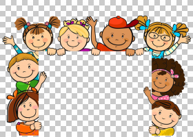 儿童卡通,可爱的孩子们,儿童卡通艺术PNG剪贴画漫画,食品,手,摄影