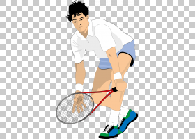 网球运动员卡通,网球运动员PNG剪贴画健身,运动,男孩,人类,运动器