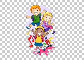 儿童学前班,通往学校儿童,动画儿童PNG剪贴画摄影,友谊,学校用品,
