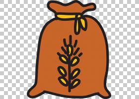 麦包计算机图标麻袋,卡通小麦PNG剪贴画卡通人物,棕色,食品,收获,