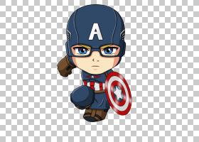 美国队长钢铁侠蜘蛛侠卡通赤壁,美国队长,美国队长PNG剪贴画漫画,