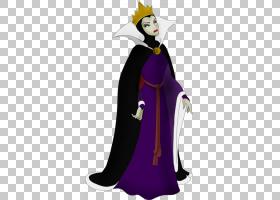 邪恶女王雪白魔镜小人,邪恶女王PNG剪贴画紫色,漫画,女王,迪士尼