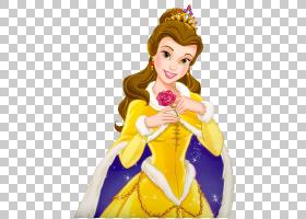 美女与野兽迪士尼公主华特迪士尼公司,美女与野兽PNG剪贴画虚构人