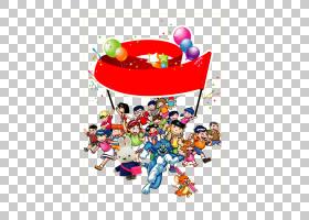 儿童节,快乐儿童PNG剪贴画孩子,文本,人民,儿童,气球,颜色,生日快
