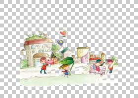 儿童节海报,童话故事PNG剪贴画儿童,食品,装饰,插画,卡通,材料,女