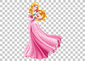 公主Aurora Cinderella Belle Ariel Rapunzel,公主PNG剪贴画迪士