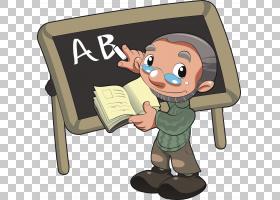 老师工作,老师PNG剪贴画手,卡通,虚构人物,卡通老师,教师节,老师,