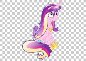 公主Cadance Twilight Sparkle Rarity Pony,公主PNG剪贴画马,紫