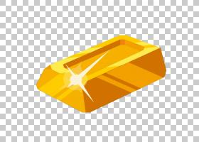 金砖卡通,卡通金砖PNG剪贴画卡通人物,角度,金币,矩形,橙色,黄金,