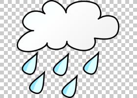 雨云卡通,卡通雨云PNG剪贴画白,脸,叶,文本,云,对称,黑色,买断式