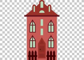 公寓楼,公寓楼PNG剪贴画建筑,复古,公寓,生日快乐矢量图像,卡通,