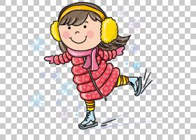冬季运动,滑雪PNG剪贴画的小女孩儿童,冬季,时尚女孩,摄影,运动,