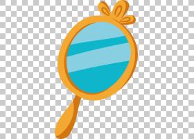 镜子,镜子PNG剪贴画蓝色,家具,橙色,生日快乐矢量图像,卡通,后视
