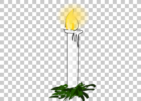 出现蜡烛圣诞节,白色卡通燃烧蜡烛PNG剪贴画卡通人物,白色,叶,蜡
