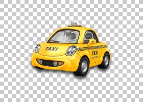 出租车黄色出租车租车机场巴士旅行,卡通出租车PNG剪贴画卡通人物