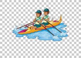 划船皮划艇股票摄影,划船双胞胎PNG剪贴画卡通,免版税,车辆,体育,