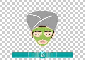 面部水疗面部护理,美容面部PNG剪贴画美容,人,化妆品,头,卡通,封