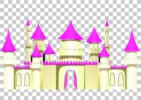华特迪士尼公司屋顶城堡,粉红屋顶迪士尼城堡PNG剪贴画紫色,卡通,