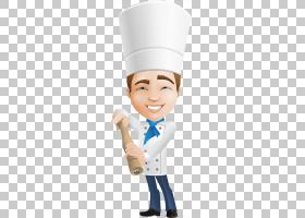 厨师字符卡通,卡通厨师戴着厨师的帽子PNG剪贴画卡通人物,帽子,帽