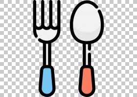 叉勺吃饭,卡通勺叉PNG剪贴画卡通人物,蓝色,紫罗兰色,板,营养,漫