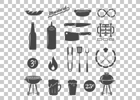 香肠热狗烧烤快餐,烧烤用品图标图PNG剪贴画用品,食品,相机图标,