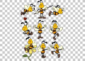 蜜蜂电子书儿童在线书,蜜蜂PNG剪贴画蜜蜂,动物,昆虫,卡通,卡通动
