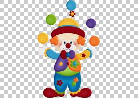马戏团小丑绘图,卡通小丑PNG剪贴画卡通人物,帽子,颜色,漫画,婴儿