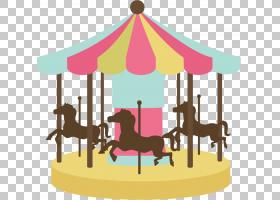 马旋转木马娱乐骑,娱乐的PNG剪贴画游乐园,卡通,版税,娱乐剪贴画,