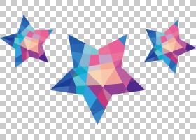 马生日免费派对女孩,彩色星星PNG剪贴画孩子,三角形,对称,成人,孩