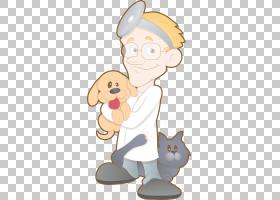 猫狗兽医医师,拿着狗宠物医生PNG剪贴画哺乳动物,食肉动物,手,宠