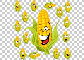 玉米棒玉米甜玉米,玉米PNG剪贴画食品,摄影,向日葵,草,花卉,卡通,