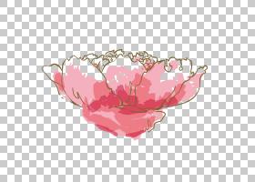 水彩:鲜花水彩画粉红色,水彩花卉PNG剪贴画水彩叶子,墨水,手,颜