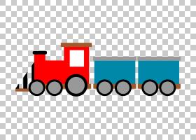 玩具火车和火车套装绘图,复古PNG剪贴画文本,徽标,卡通,运输,火车