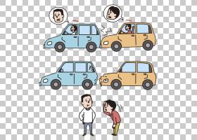汽车交通碰撞事故后方,结束碰撞,车祸PNG剪贴画紧凑型汽车,人,老