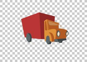 汽车卡车欧几里德,卡车箱车PNG剪贴画汽车事故,角度,橙色,汽车,礼
