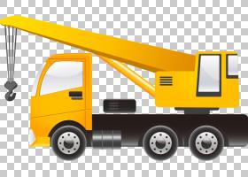 汽车起重机重型设备联合法律服务机,卡车拉料PNG剪贴画免费标志设