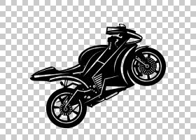 汽车轮摩托车,摩托车PNG剪贴画摩托车卡通,摩托车矢量,单色,生日