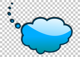 泡沫泡沫,认为泡泡PNG剪贴画蓝色,文本,心,语音气球,对话框,卡通,