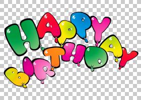 生日蛋糕气球,透明快乐Birthay气球,生日快乐PNG剪贴画希望,文本,