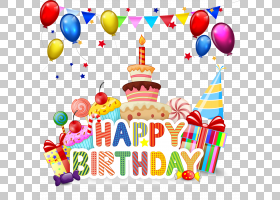生日蛋糕蛋糕卡通,生日快乐,生日快乐主题PNG剪贴画食品,摄影,祝