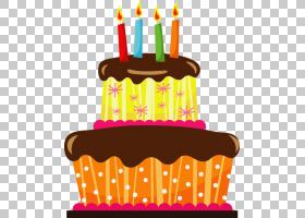 生日蛋糕蛋糕婚礼蛋糕面包店,卡通生日蛋糕贴纸PNG剪贴画烘焙食品