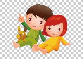 男孩孩子,孩子坐地面PNG clipart孩子,手,摄影,人民,友谊,蹒跚学