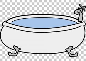 浴缸热水浴缸,梦想浴缸PNG剪贴画家具,浴室,房间,卡通,材料,做梦,