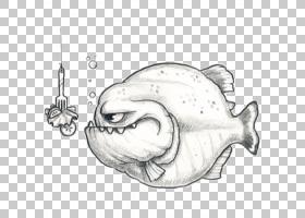 涂鸦绘画绘画素描,绘画PNG剪贴画海洋哺乳动物,食品,铅笔,海鲜,单